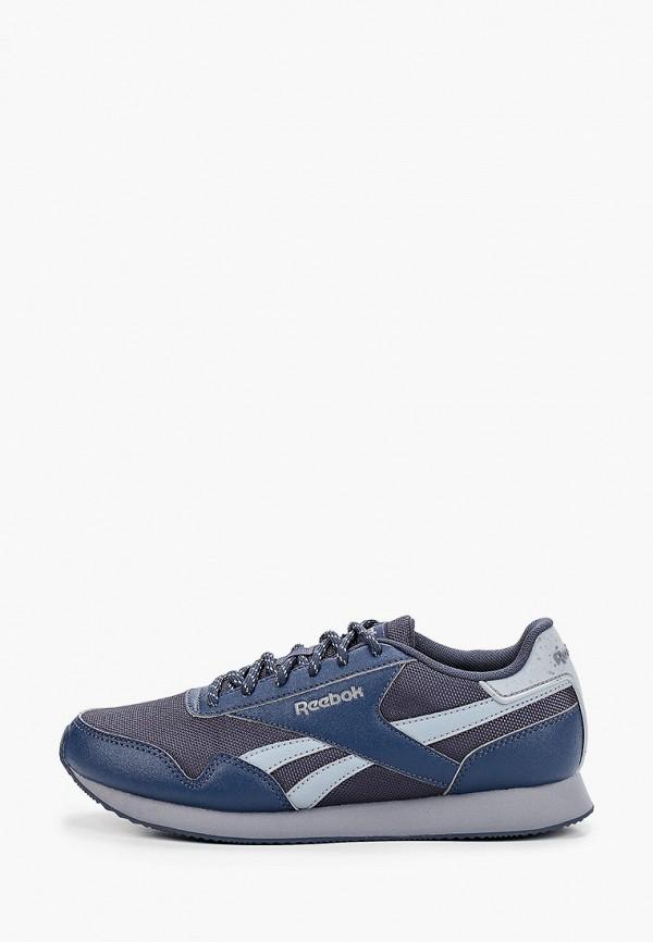 женские кроссовки reebok classic, синие