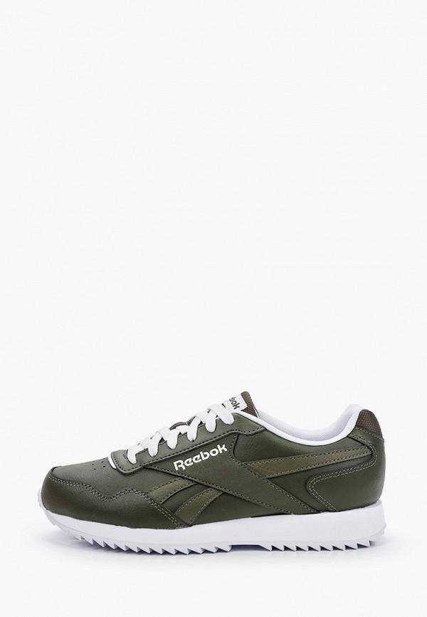 женские низкие кроссовки reebok classic, хаки