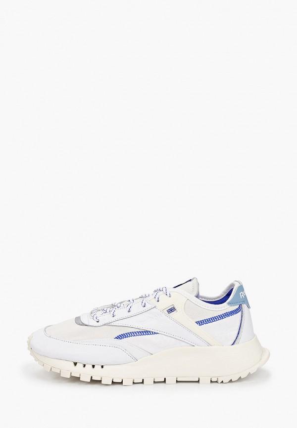 женские кроссовки reebok classic, бежевые