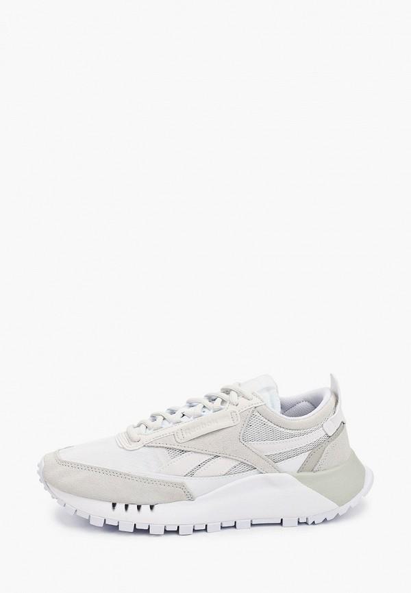 женские низкие кроссовки reebok classic, бежевые