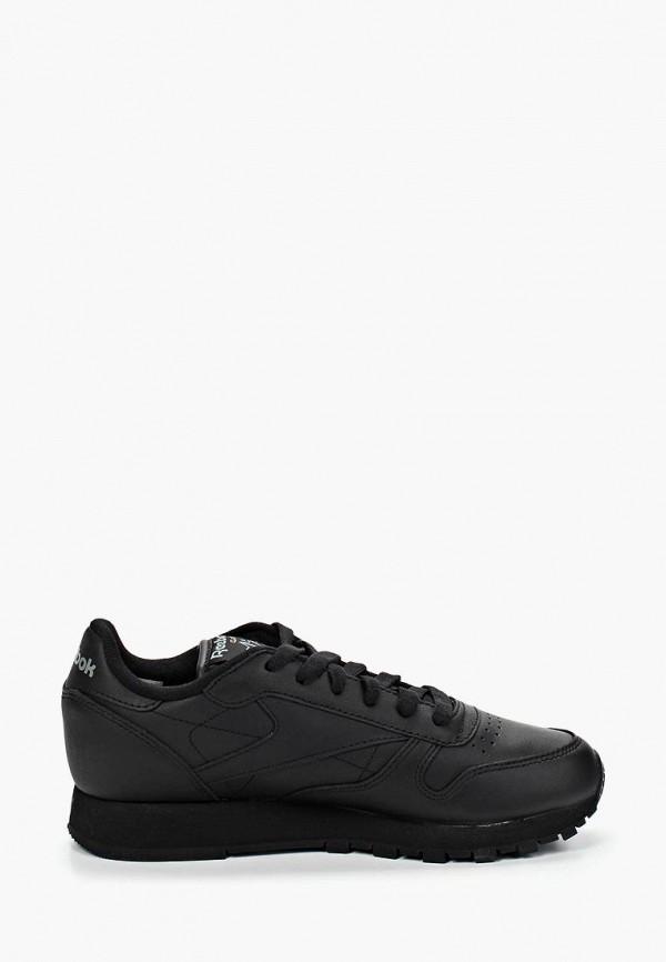 Фото 5 - женские кроссовки Reebok Classics черного цвета