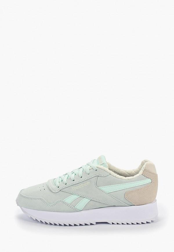 Купить женские кроссовки Reebok Classics зеленого цвета