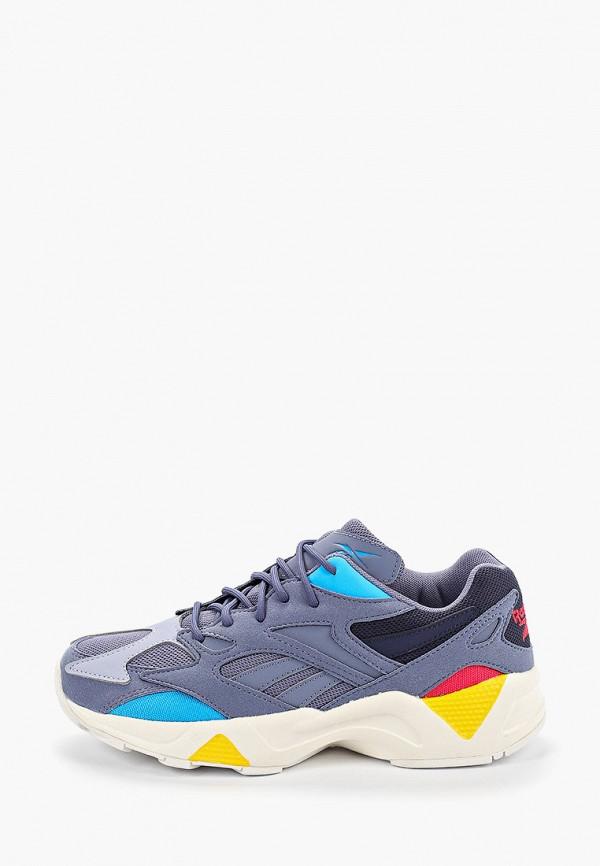 женские кроссовки reebok, синие