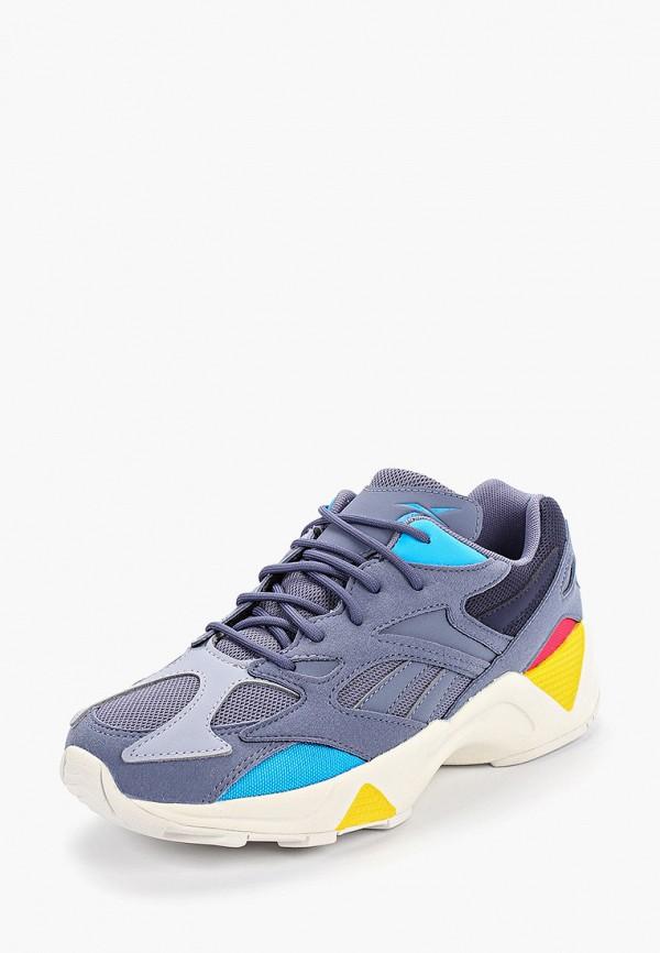 Фото 2 - женские кроссовки Reebok Classics синего цвета