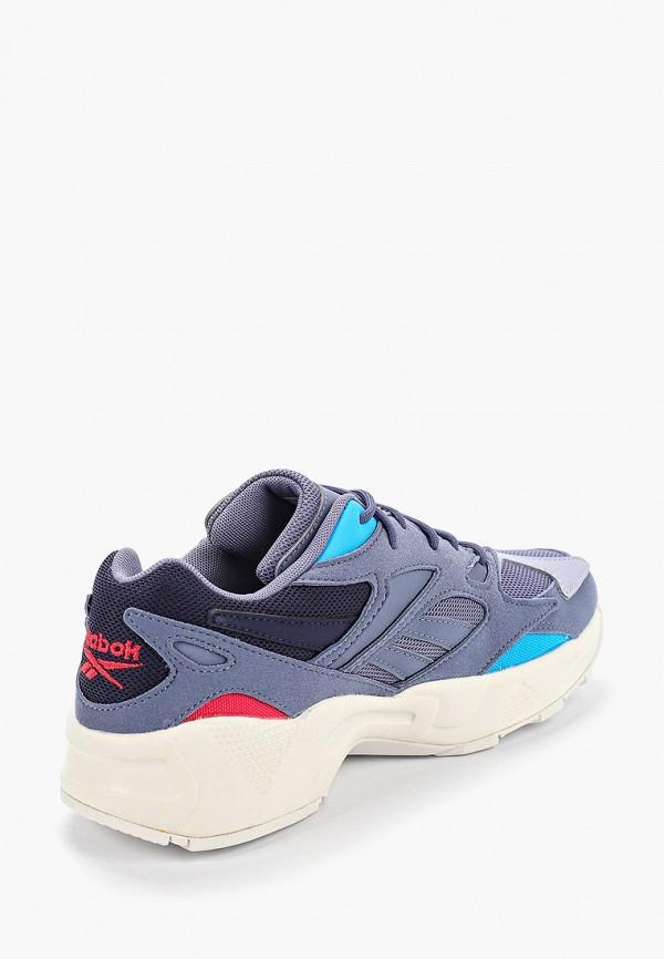 Фото 3 - женские кроссовки Reebok Classics синего цвета
