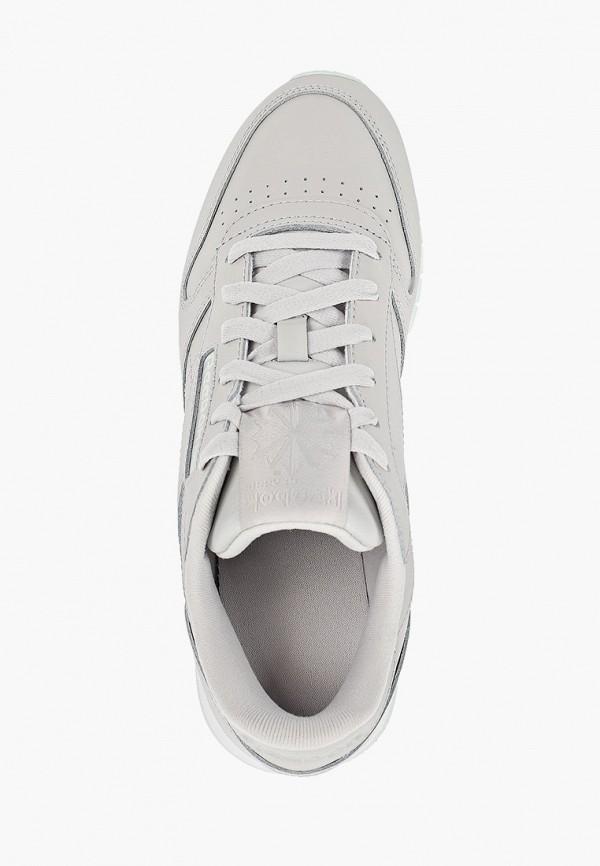 Фото 4 - женские кроссовки Reebok Classics серого цвета