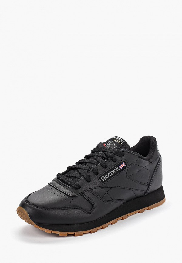 Фото 2 - женские кроссовки Reebok Classics черного цвета