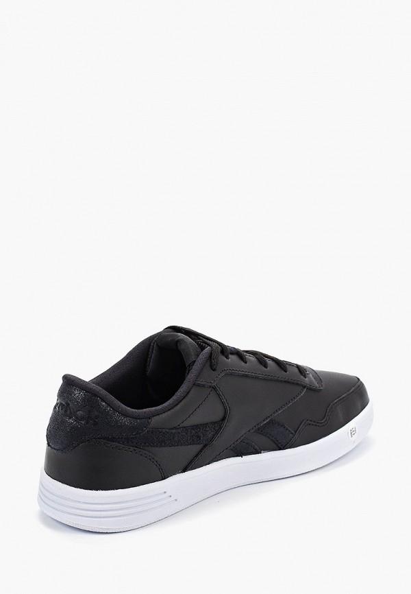 Фото 3 - женские кроссовки Reebok Classics черного цвета