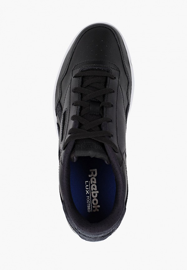 Фото 4 - женские кроссовки Reebok Classics черного цвета