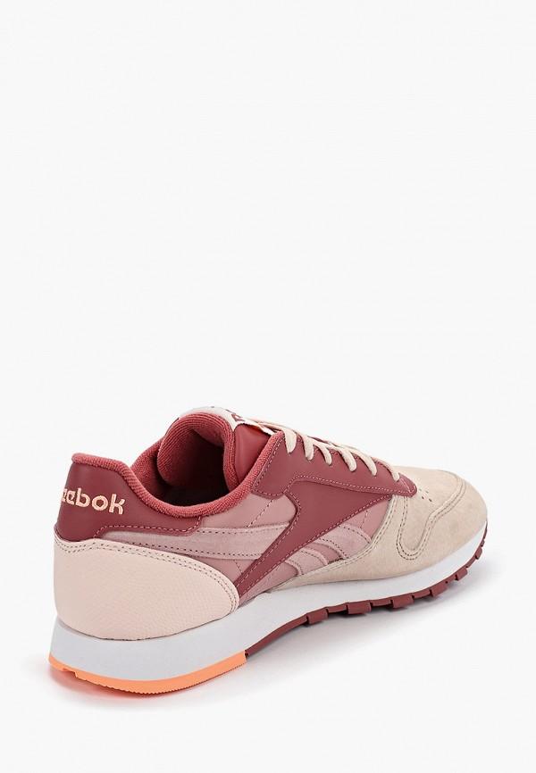 Фото 3 - женские кроссовки Reebok Classics розового цвета