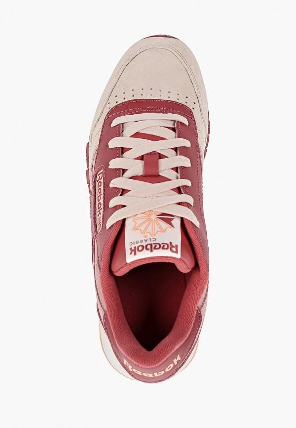 Фото 4 - женские кроссовки Reebok Classics розового цвета