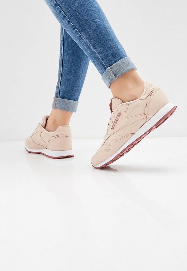 Фото 6 - женские кроссовки Reebok Classics розового цвета