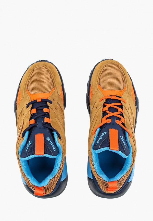 Фото 4 - женские кроссовки Reebok Classics коричневого цвета