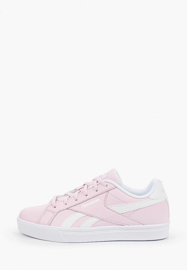 женские кеды reebok, розовые