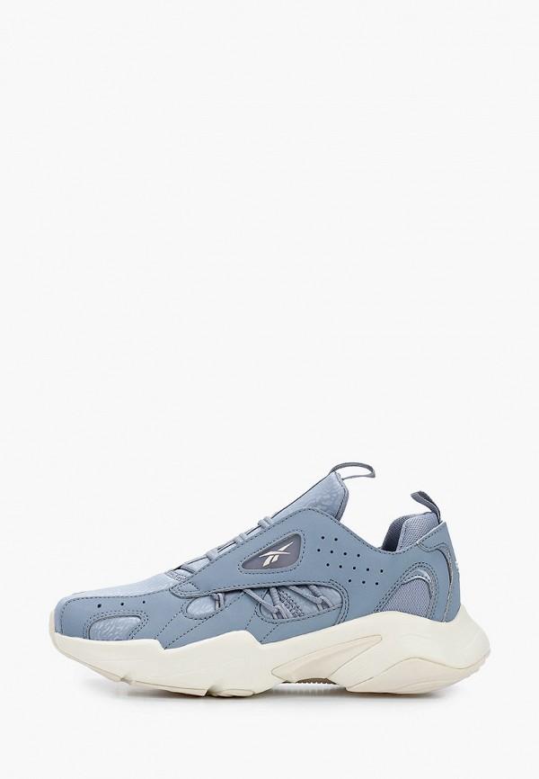 женские кроссовки reebok classic, голубые