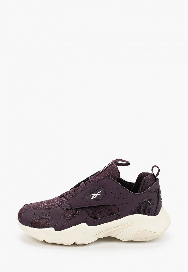 женские кроссовки reebok classic, фиолетовые