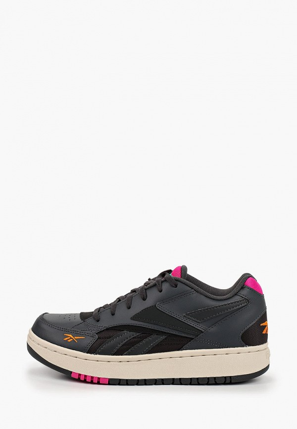 женские кроссовки reebok classic, серые