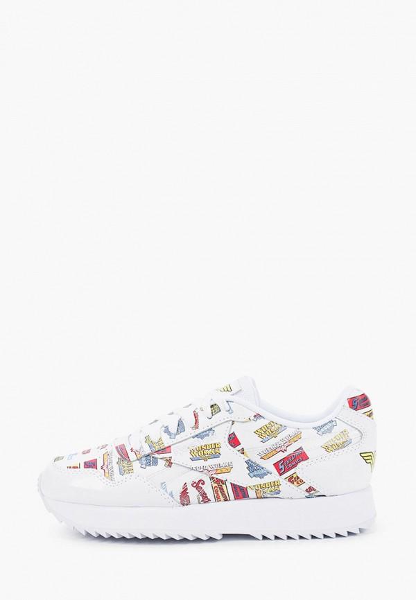 женские кроссовки reebok classic, белые