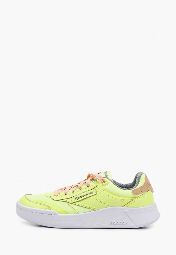 женские кроссовки reebok classic, зеленые
