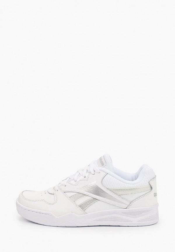 женские низкие кроссовки reebok classic, белые