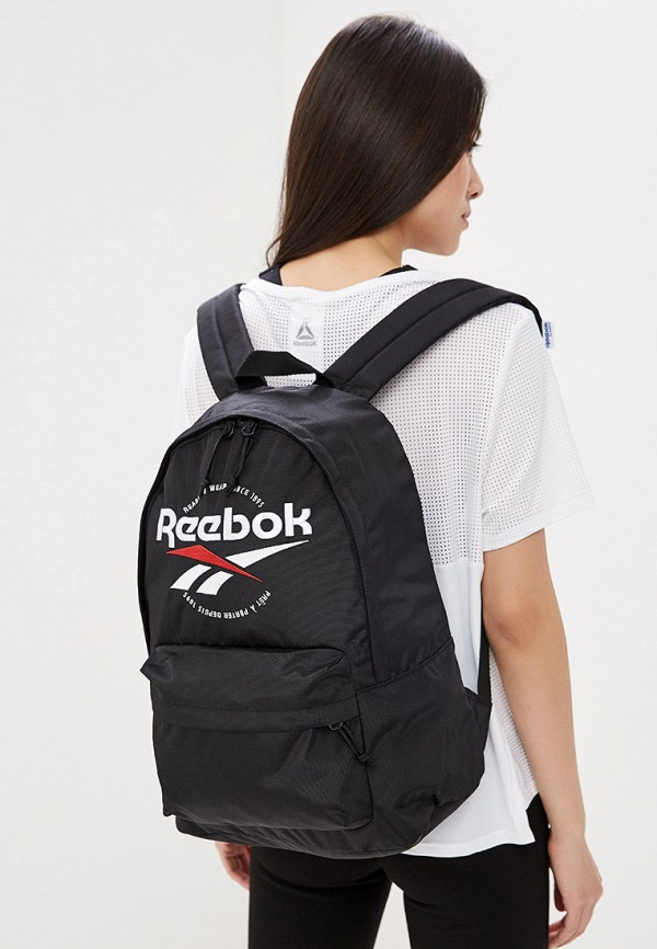 Фото 4 - Мужской рюкзак Reebok Classics черного цвета