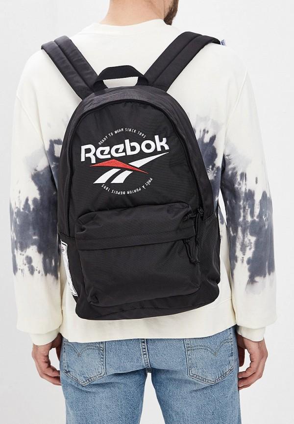 Фото 5 - Мужской рюкзак Reebok Classics черного цвета
