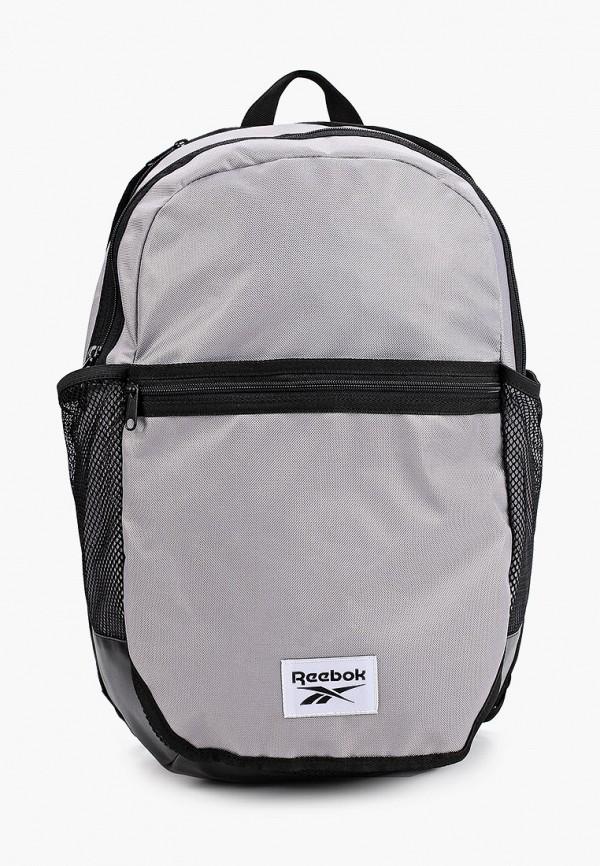 женский рюкзак reebok, серый