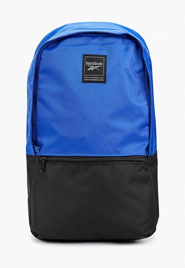 женский рюкзак reebok, синий
