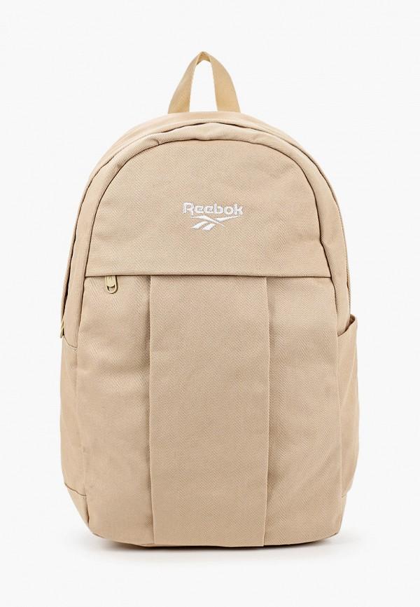 женский рюкзак reebok classic, бежевый