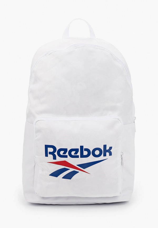 женский рюкзак reebok classic, белый