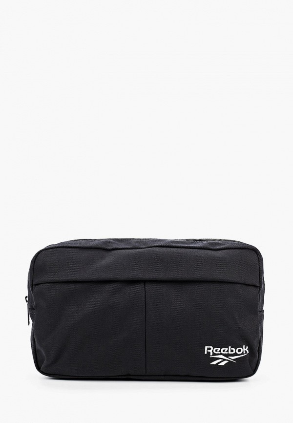 женская поясные сумка reebok classic, черная