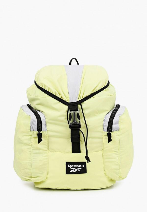 женский рюкзак reebok classic, желтый