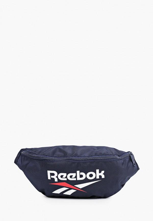 женская сумка reebok classic, синяя