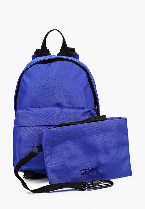 женский кошелёк reebok classic, синий