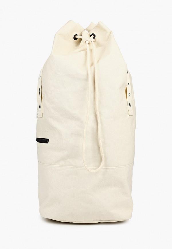 женская сумка reebok classic, бежевая