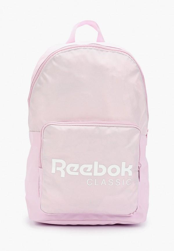 женский рюкзак reebok, розовый