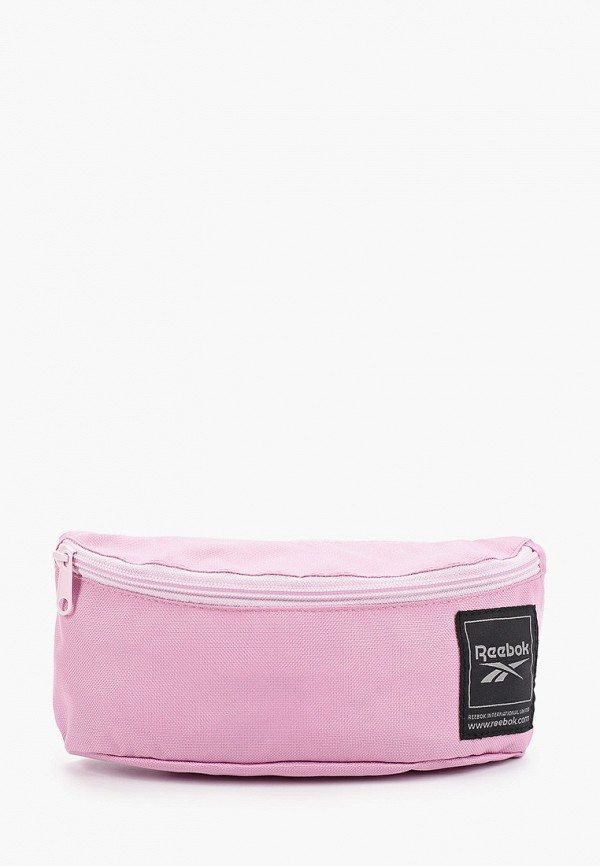 женская сумка reebok, розовая