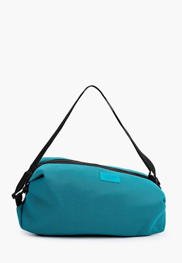 женская спортивные сумка reebok, зеленая