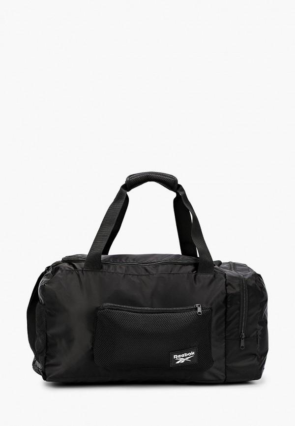 женская сумка reebok, черная
