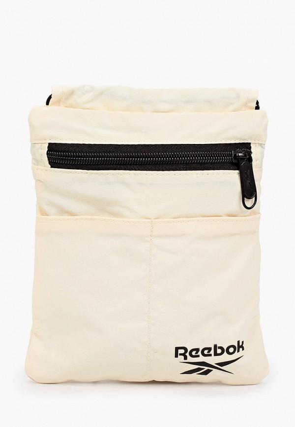 женская сумка через плечо reebok classic, желтая