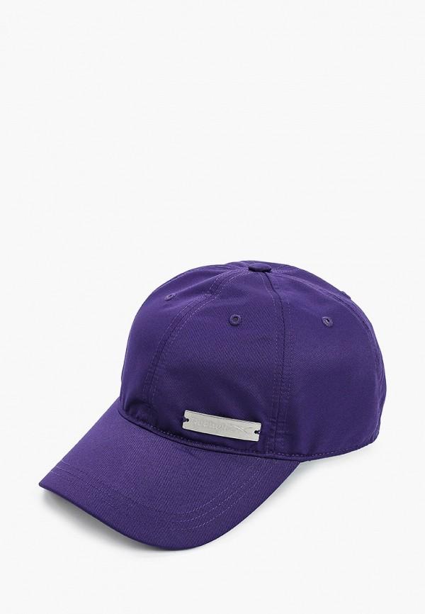 Бейсболка Reebok фиолетового цвета