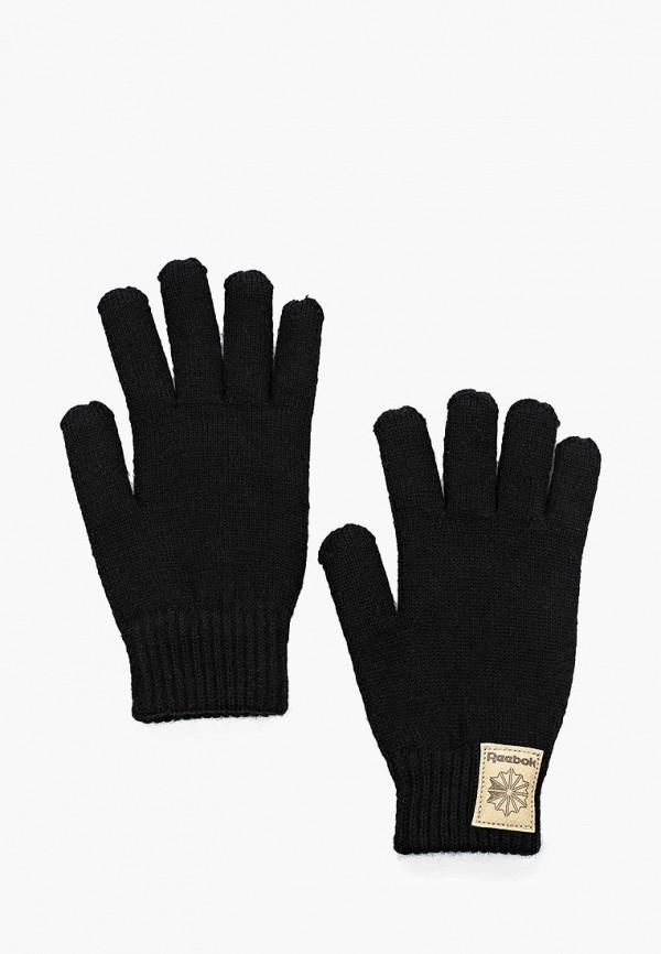 Купить Перчатки Reebok Classics, CL FO LA GLOVES, RE005DUJWA37, черный, Осень-зима 2018/2019