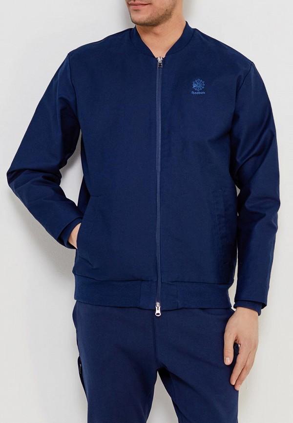 Купить Куртка Reebok Classics, GRAPHIC PACK Q1 BOMBER, RE005EMALIR3, синий, Весна-лето 2018