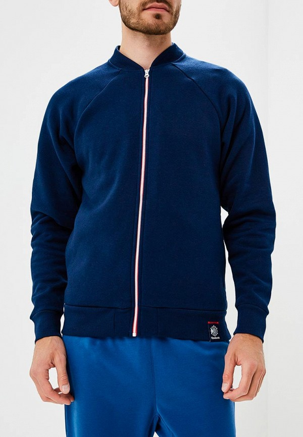 Купить Куртка Reebok Classics, AC F BOMBER, RE005EMCDKM8, синий, Осень-зима 2018/2019