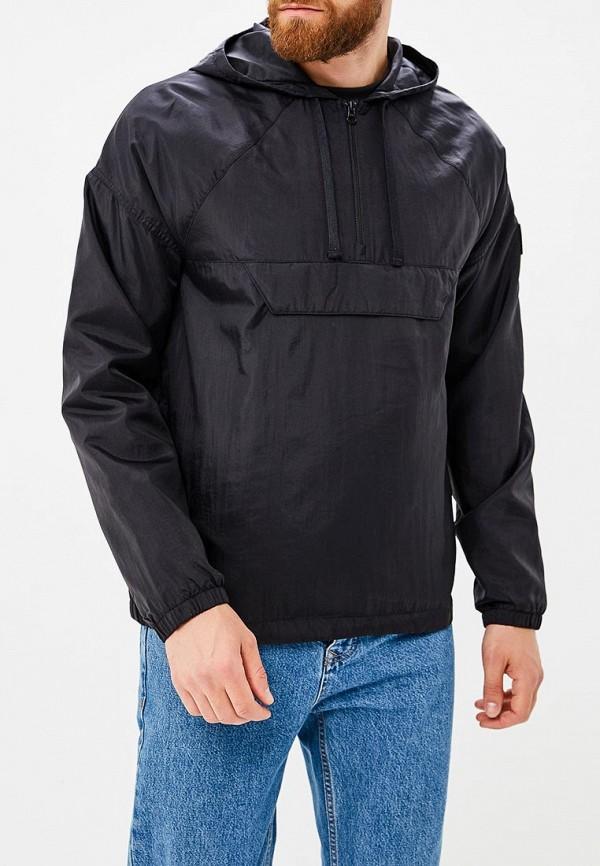 Купить Куртка Reebok Classics, ES 1/2 ZIP OTH, RE005EMCDKP3, черный, Осень-зима 2018/2019