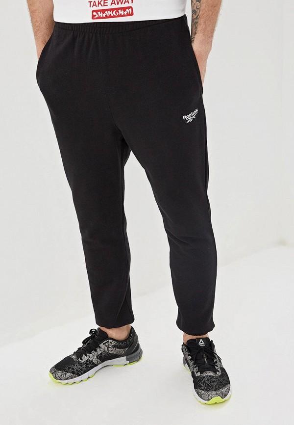 мужские спортивные спортивные брюки reebok, черные