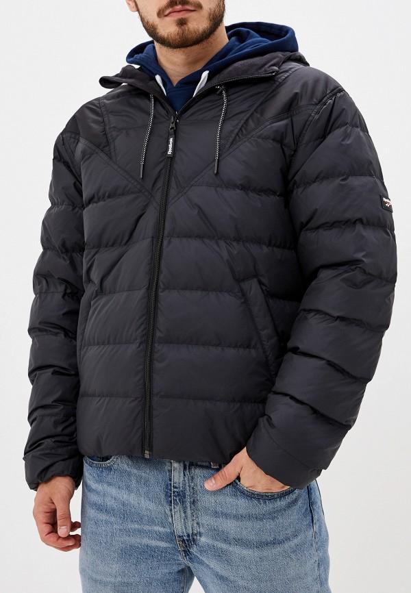 мужская куртка reebok, черная