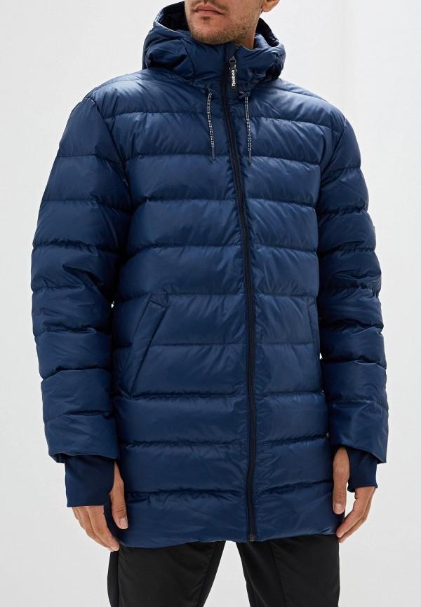 мужская куртка reebok, синяя