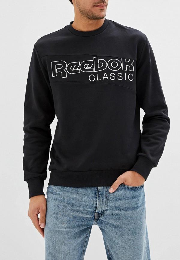 мужской свитшот reebok, черный