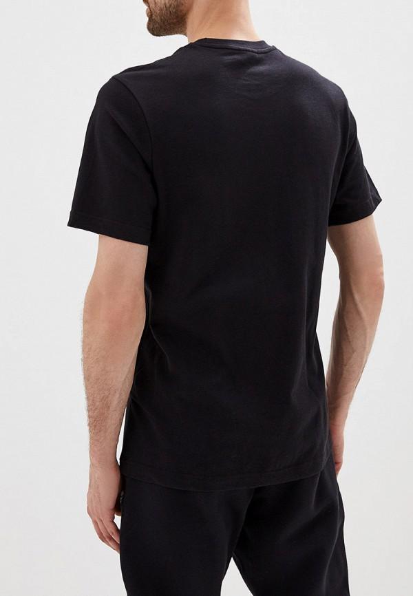 Фото 3 - мужскую футболку Reebok Classics черного цвета